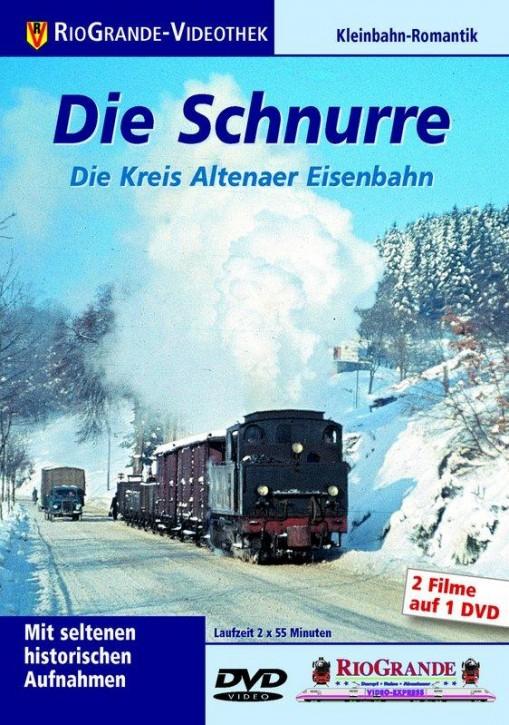DVD: Die Schnurre. Die Kreis Altenaer Eisenbahn