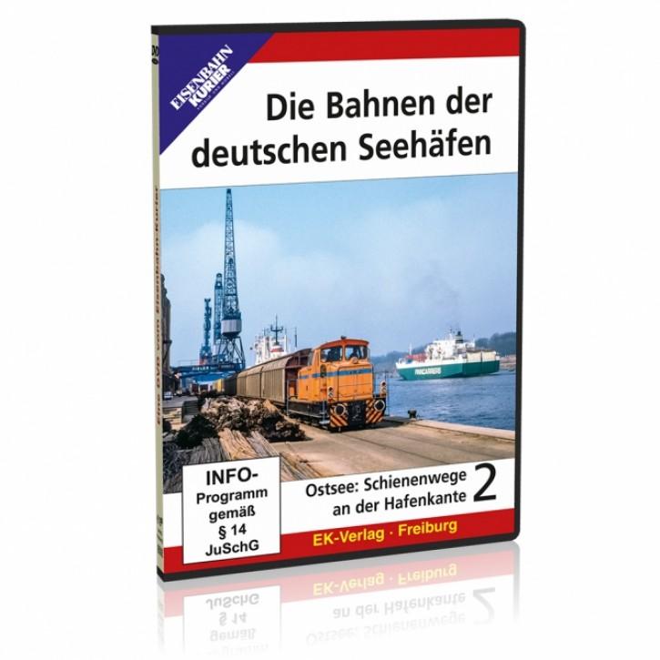 DVD: Die Bahnen der deutschen Seehäfen Teil 2 Ostsee: Schienenwege an der Hafenkante