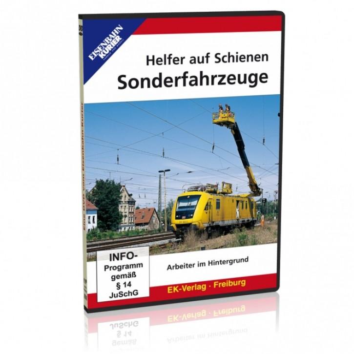 DVD: Helfer auf Schienen - Sonderfahrzeuge. Arbeiter im Hintergrund