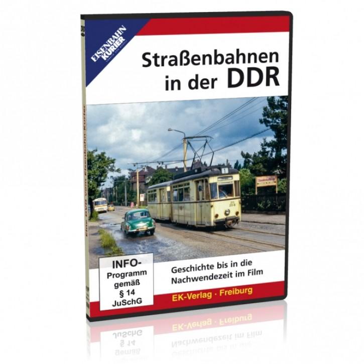 DVD: Straßenbahnen in der DDR. Geschichte bis in die Nachwendezeit