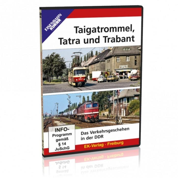DVD: Taigatrommel, Tatra und Trabant. Das Verkehrsgeschehen in der DDR