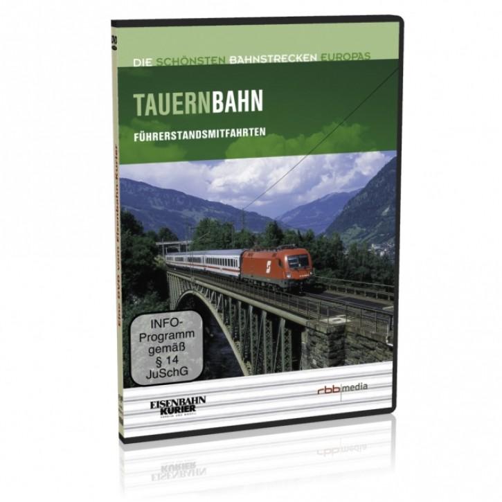 DVD: Die schönsten Bahnstrecken Europas. Tauernbahn. Salzburg - Villach