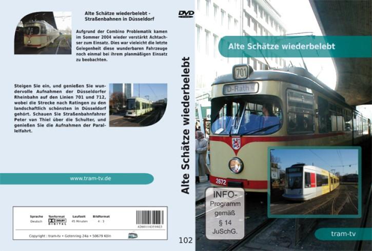 DVD: Alte Schätze wiederbelebt - Straßenbahnen in Düsseldorf