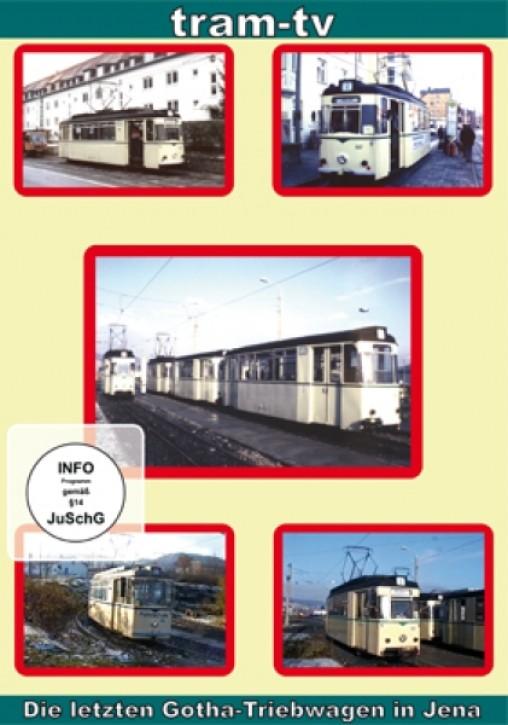 DVD: Die letzten Gotha-Triebwagen in Jena