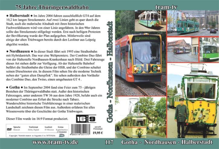 DVD: Gotha Nordhausen Halberstadt