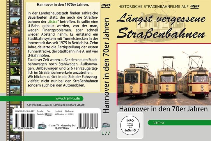 DVD: Längst vergessene Straßenbahnen. Hannover in den 70er Jahren