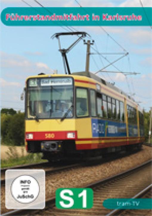 DVD: Führerstandmitfahrt in Karlsruhe. S 1 Hochstetten - Bad Herrenalb