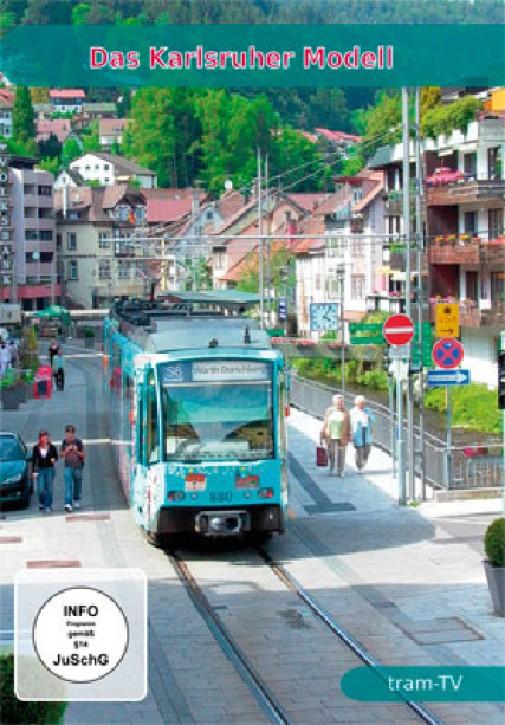 DVD: Das Karlsruher Modell. Die erste Straßenbahn auf DB-Gleisen