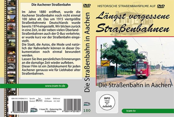 DVD: Längst vergessene Straßenbahnen. Die Straßenbahn in Aachen