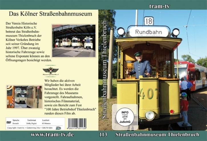 DVD: Das Straßenbahnmuseum Thielenbruch