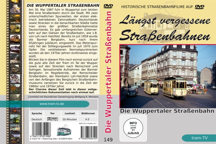 DVD: Die Wuppertaler Straßenbahn