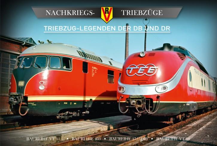 4er-DVD-Box: Triebzug-Legenden der DB und DR