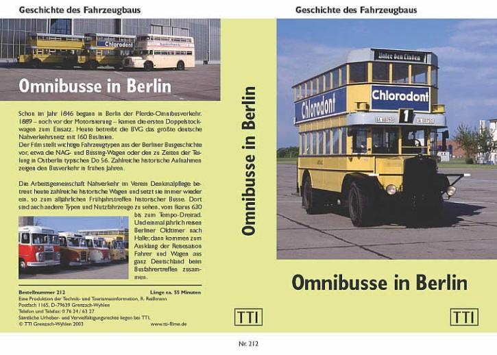 DVD: Omnibusse in Berlin