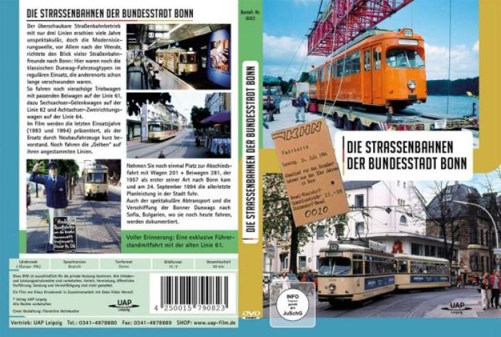 DVD: Die Strassenbahnen der Bundesstadt Bonn. Abschied 1993-1994