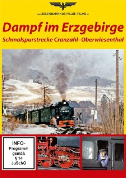 DVD: Dampf im Erzgebirge. Schmalspurstrecke Cranzahl - Oberwiesenthal