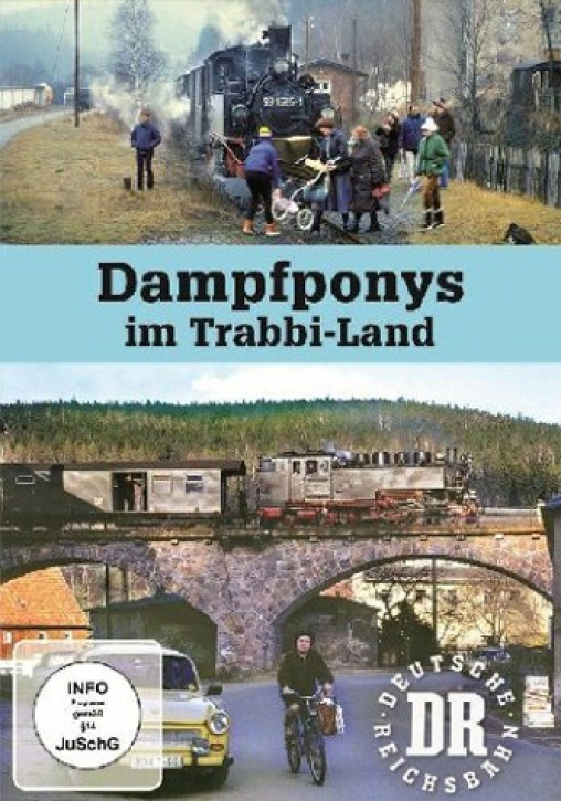 DVD: Dampfponys im Trabbi-Land
