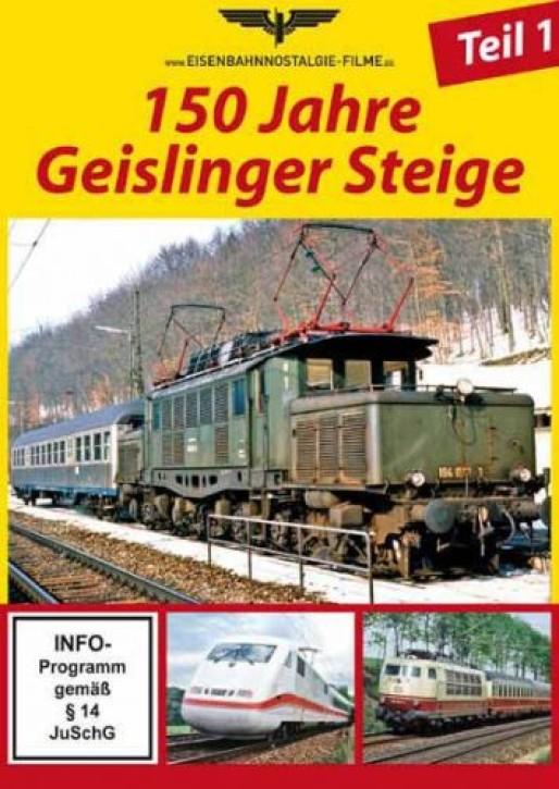 DVD: 150 Jahre Geislinger Steige Teil 1