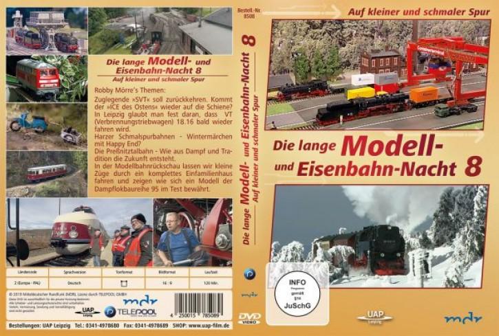 DVD: Die 8. lange Modell- und Eisenbahnnacht - Auf kleiner und schmaler Spur