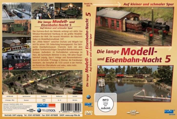 DVD: Die lange Modell- und Eisenbahnnacht 5 - Auf kleiner und schmaler Spur (MDR)