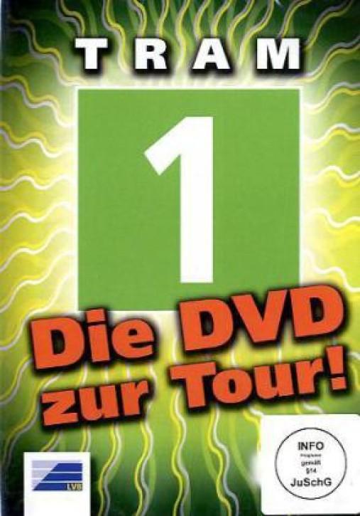 DVD: Leipziger Verkehrsbetriebe Führerstandsfahrten Tram 1