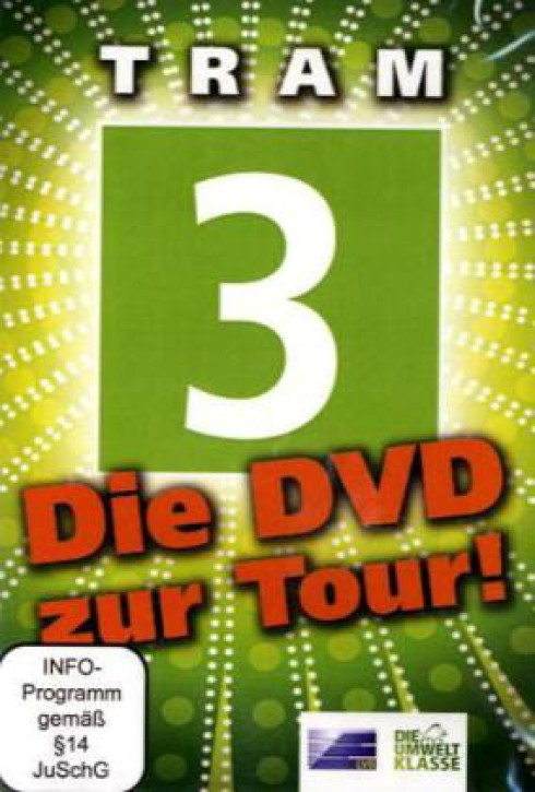 DVD: Leipziger Verkehrsbetriebe Führerstandsfahrten Tram 3