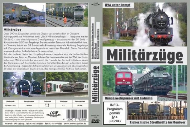 DVD: Militärzüge. NVA - Bundeswehr - Tschechische Streitkräfte