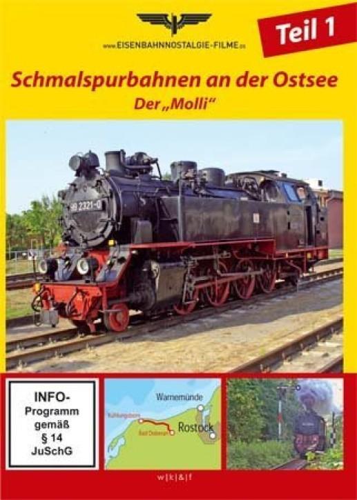 """DVD: Schmalspurbahnen an der Ostsee. Der """"Molli"""""""