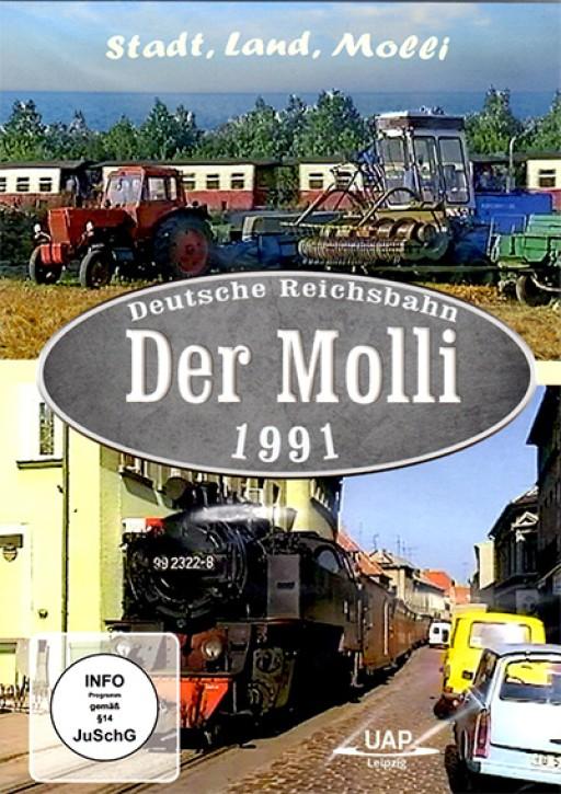 DVD: Deutsche Reichsbahn. Der Molli 1991