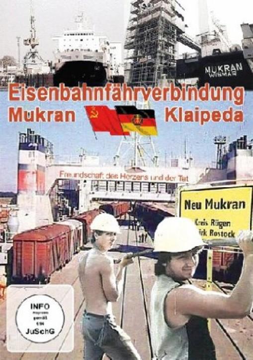 DVD: Eisenbahnfährverbindung Mukran - Klaipeda