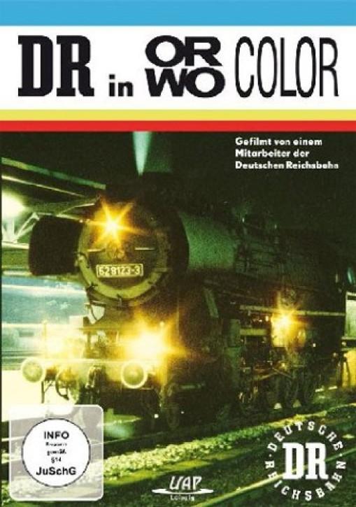 DVD: DR in ORWO COLOR - Deutsche Reichsbahn