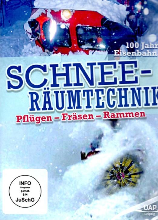 DVD: Schneeräumtechnik bei der Bahn. Pflügen - Fräsen - Rammen
