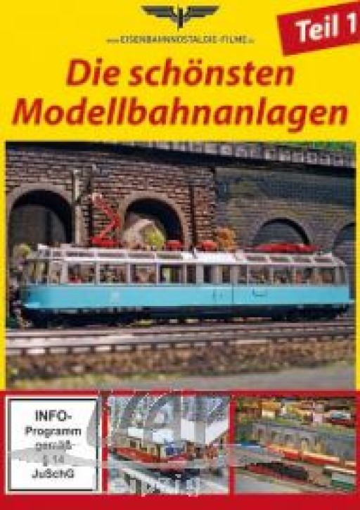 DVD: Die schönsten Modellbahnanlagen Teil 1