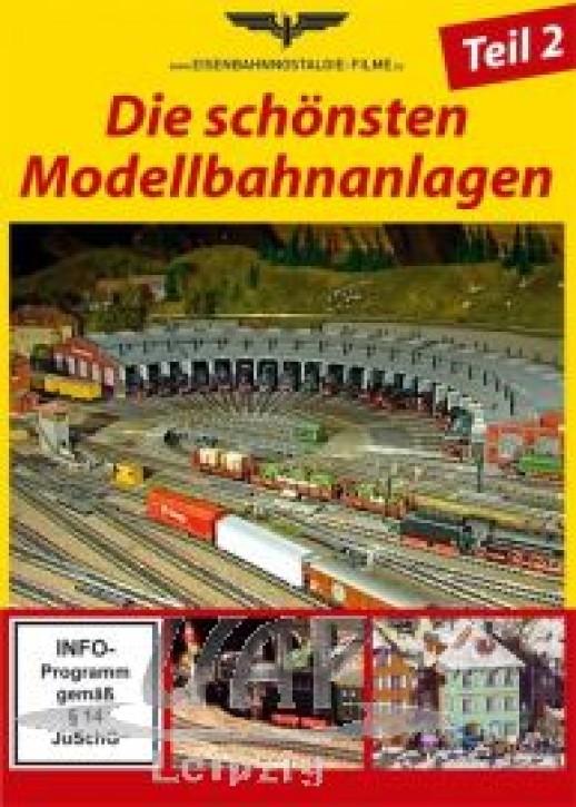 DVD: Die schönsten Modellbahnanlagen Teil 2