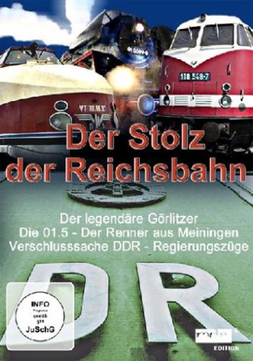 DVD: Der Stolz der Reichsbahn - VT 16.18, Baureihe 01.5, DDR-Regierungszüge