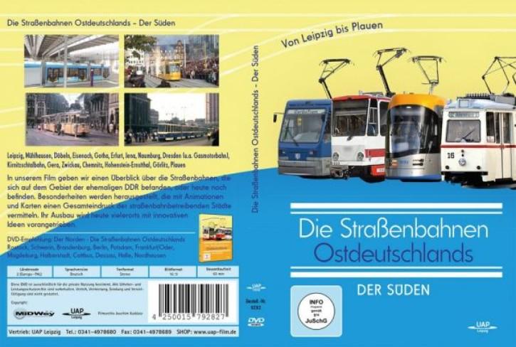 DVD: Die Straßenbahnen Ostdeutschlands. Der Süden von Leipzig bis Plauen