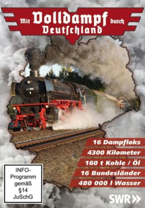 DVD: Mit Volldampf durch Deutschland