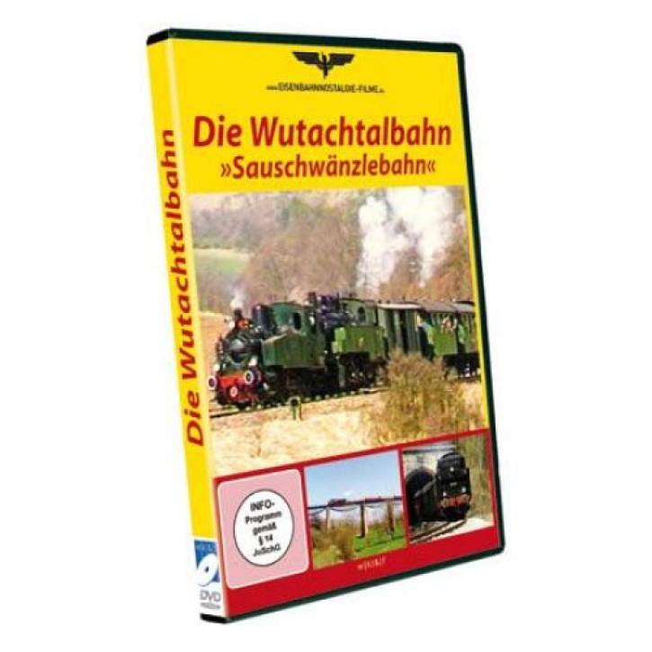 DVD: Die Wutachtalbahn - Sauschwänzlebahn - Geschichte und Dampfbetrieb Ostern 1987