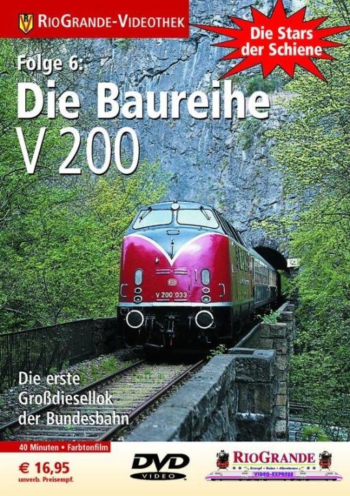DVD: Stars der Schiene 6. Die Baureihe V 200 - DB-Großdiesellok