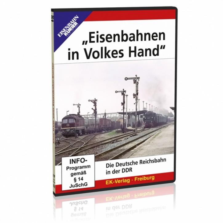 DVD: Eisenbahnen in Volkes Hand. Die Deutsche Reichsbahn in der DDR
