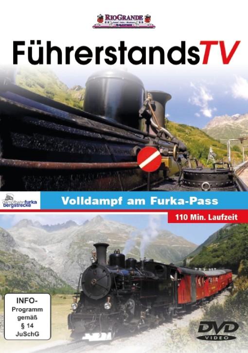 DVD: FührerstandsTV. Volldampf am Furka-Pass