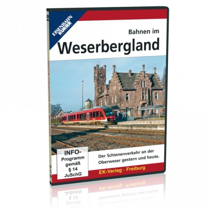 DVD: Bahnen im Weserbergland. Der Schienenverkehr an der Oberweser gestern und heute