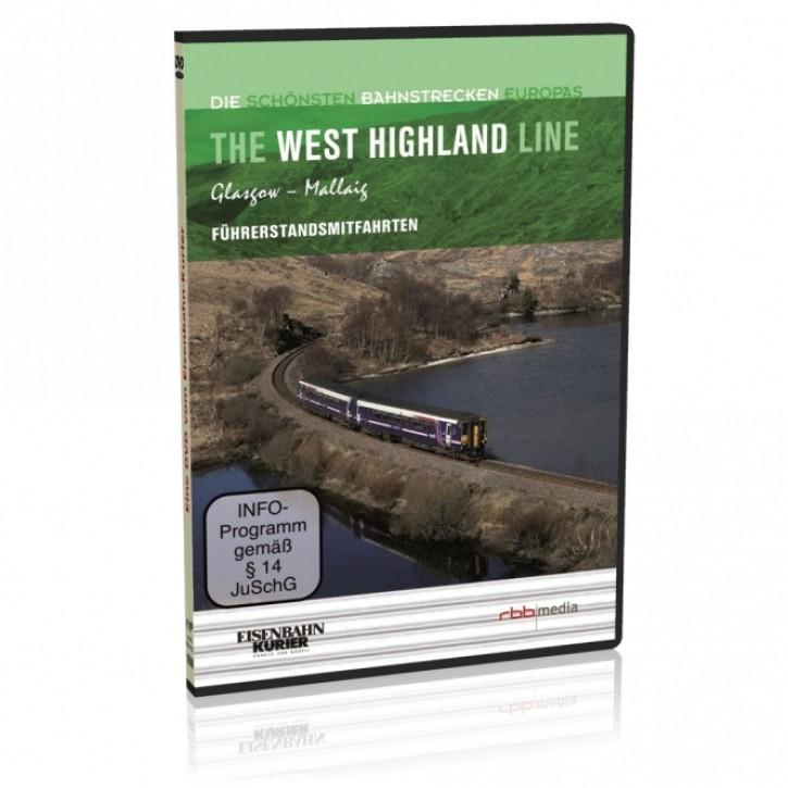 Doppel-DVD: Die schönsten Bahnstrecken Europas. The West Highland Line Schottland. Glasgow - Mallaig