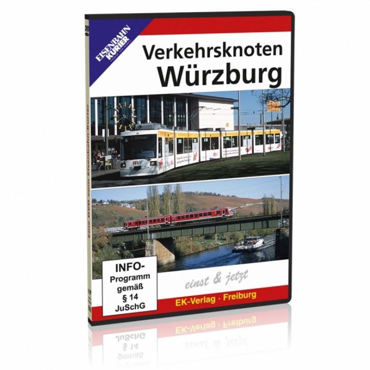 DVD: Verkehrsknoten Würzburg einst & jetzt