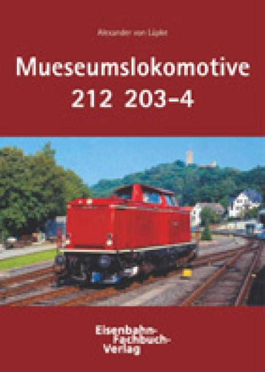 Die Museumslokomotive 212 203-4. Alexander von Lüpke