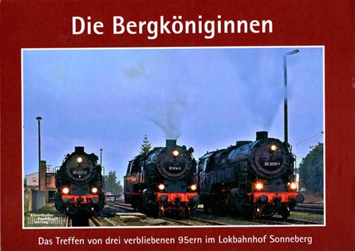 Die Bergköniginnen. Das Treffen von drei verbliebenen 95ern im Lokbahnhof Sonneberg. Thomas Stegner