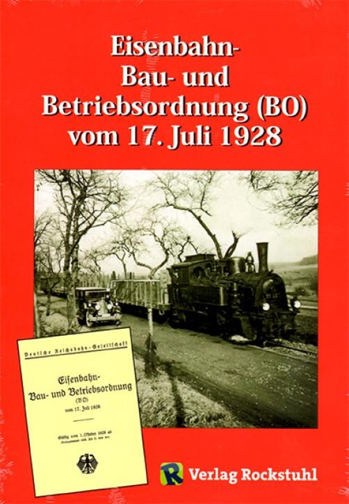 Eisenbahn-Bau- und Betriebsordnung (BO) vom 17. Juli 1928