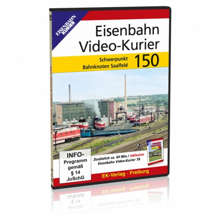 DVD: Eisenbahn Video-Kurier 150. Schwerpunkt Bahnknoten Saalfeld