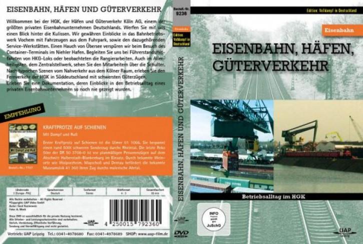 DVD: Eisenbahnen, Häfen, Güterverkehr - Betriebsalltag im HGK