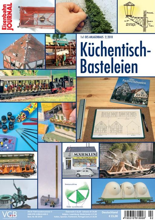 Eisenbahn-Journal 1x1 des Anlagenbaus: Küchentisch-Basteleien