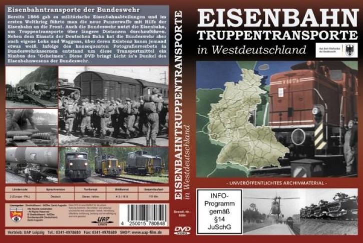 DVD: Eisenbahntruppentransporte in Westdeutschland